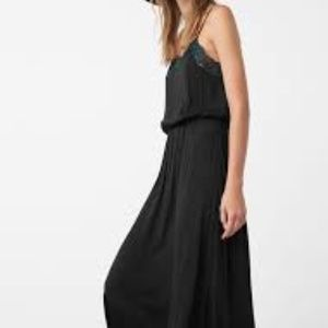 MANGO | Vestido Infinity Lace Slip Dress Q337